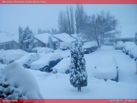 This image is from one of the Snow Report webcams at Mountain Shadows on Barkly Pass. All their webcams are available on their website. http://snowreport.co.za/snow-cameraas/